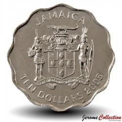 JAMAIQUE - PIECE de 10 Dollars - George William Gordon - 2005