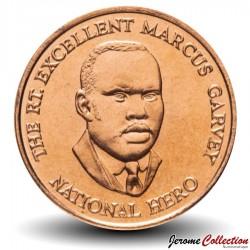 JAMAIQUE - PIECE de 25 Cents - Marcus Garvey - 1995 Km#167