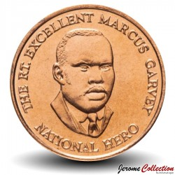 JAMAIQUE - PIECE de 25 Cents - Marcus Garvey - 2003 Km#167