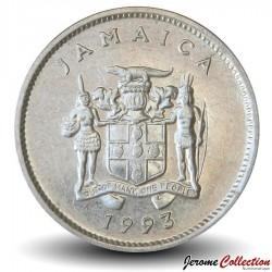 JAMAIQUE - PIECE de 5 Cents - Crocodile américain - 1993