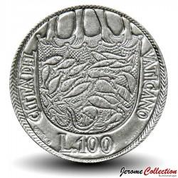 VATICAN - PIECE de 100 Lires - Famille Unie - Paul VI - 1975 Km#130