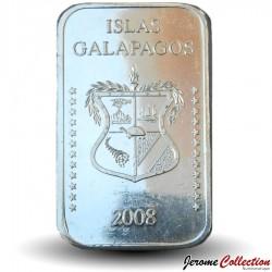 EQUATEUR / GALAPAGOS - PIECE de 8 Dollars - Baleine - 2008