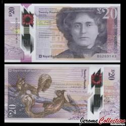 ECOSSE - Royal Bank of Scotland - Billet de 20 Pounds - Polymer - 2019 P372a