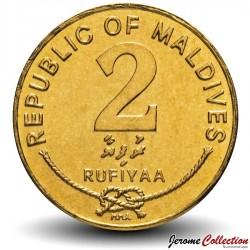 MALDIVES - PIECE de 2 Rufiyaa - Coquillage Triton - 2007