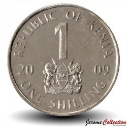 KENYA - PIECE de 1 shilling - Mzee Jomo Kenyatta - 2009