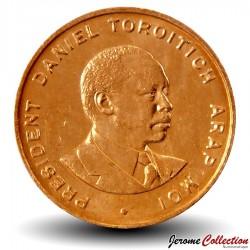 KENYA - PIECE de 10 Cents - Daniel arap Moi - 1995 Km#31