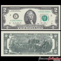 ETATS UNIS / USA - Billet de 2 DOLLARS - 2003 - C(3) - Philadelphie