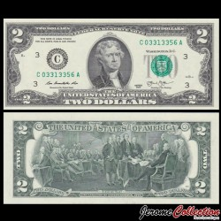 ETATS UNIS / USA - Billet de 2 DOLLARS - 2013 - C(3) - Philadelphie P538 - Fw