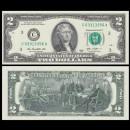 ETATS UNIS / USA - Billet de 2 DOLLARS - 2013 - C(3) - Philadelphie