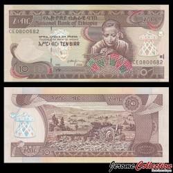 ETHIOPIE - Billet de 10 Birr - 2003 P48c