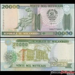 MOZAMBIQUE - Billet de 20000 Meticais - 1999