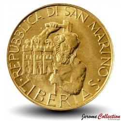 SAINT-MARIN - PIECE de 200 Lires - Mythe de l'Ours - 1994