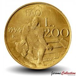 SAINT-MARIN - PIECE de 200 Lires - Mythe de l'Ours - 1994 Km#313