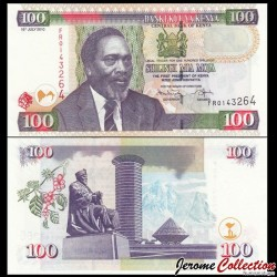 KENYA - Billet de 100 Shillings - 16.07.2010
