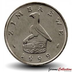 ZIMBABWE - PIECE de 10 Cents - Baobab - 1999