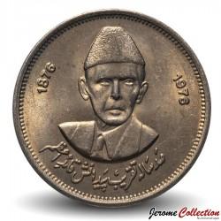 PAKISTAN - PIECE de 50 Paisa - Muhammad Ali Jinnah - 1976 Km#39
