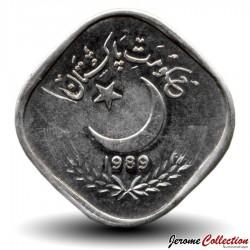 PAKISTAN - PIECE de 5 Paisa - Canne à sucre - 1989