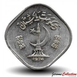 PAKISTAN - PIECE de 5 Paisa - Canne à sucre - Fao - 1974