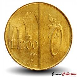 SAINT-MARIN - PIECE de 200 Lires - Hospitalité - 1993 Km#300