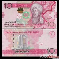 TURKMENISTAN - Billet de 10 Manat - 2012 P31a