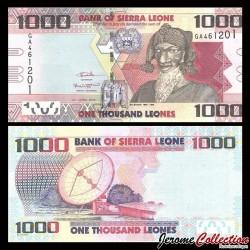 SIERRA LEONE - Billet de 1000 Leones - Bai Bureh - 27.04.2016 P30c
