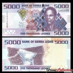 SIERRA LEONE - Billet de 5000 Leones - 04.10.2018 P32d
