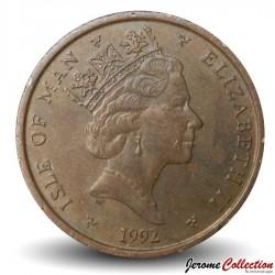 ILE DE MAN - PIECE de 2 Pence - 1993