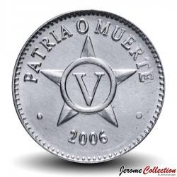 CUBA - PIECE de 5 CENTAVOS - 2009 Km#34