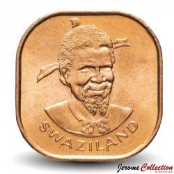 SWAZILAND - PIECE de 2 cents - Sobhuza II - FAO - 1975 Km#22