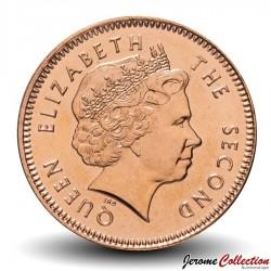 MALOUINES / FALKLAND - PIECE de 2 Pence - Ouette de Magellan - 2004