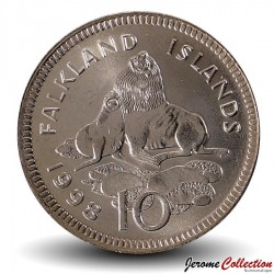 MALOUINES / FALKLANDS - PIECE de 10 CENTS - Otaries - 1998