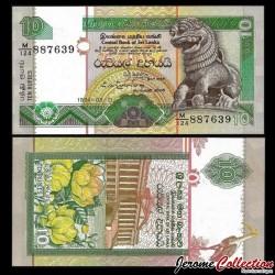 SRI LANKA - Billet de 10 Roupies - 1994