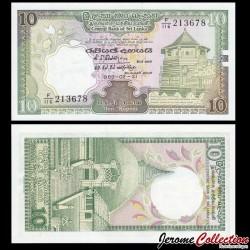 SRI LANKA - Billet de 20 Roupies - 1989 P96d