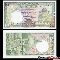 SRI LANKA - Billet de 20 Roupies - 1989