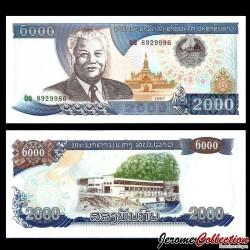 LAOS - Billet de 2000 Kip - Kaysone Phomvihane - 1997