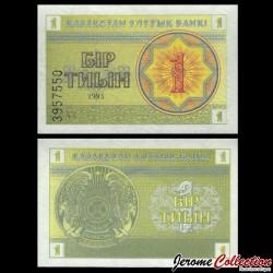 KAZAKHSTAN - Billet de 1 Tiyn - 1993 P1c