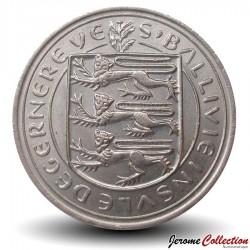 GUERNESEY (île de) - PIECE de 10 Pence - Vache Guernesey - 1968