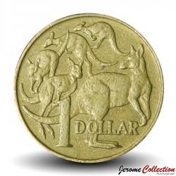 AUSTRALIE - PIECE de 1 DOLLAR - Kangourous - 1994 Km#84