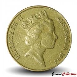 AUSTRALIE - PIECE de 1 DOLLAR - Kangourous - 1994