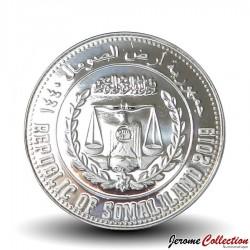 SOMALILAND - PIECE de 5 Shillings - Tortue - 2019