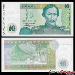 KAZAKHSTAN - Billet de 10 Tenge - 1993 P10a