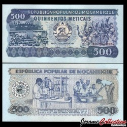 MOZAMBIQUE - Billet de 500 Meticais - 16.06.1983