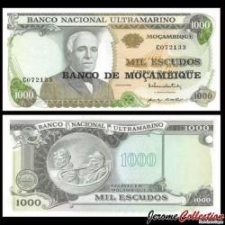 MOZAMBIQUE - Billet de 1000 Escudos - 25.05.1972 (1976) P119a