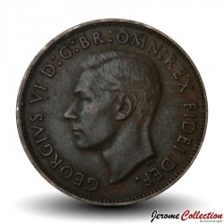 AUSTRALIE - PIECE de 1 Penny - Kangourou - 1952