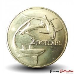 TOKELAU - PIECE de 2 DOLLARS - Requins - 2017 Km#New