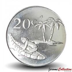 TOKELAU - PIECE de 20 Cents - 2017 Km#New