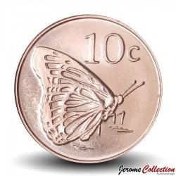 TOKELAU - PIECE de 10 Cents - Papillon - 2017 Km#New