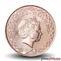 TOKELAU - PIECE de 10 Cents - Papillon - 2017