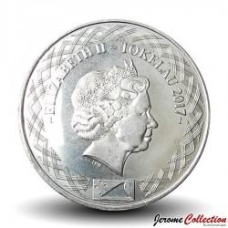 TOKELAU - PIECE de 5 Cents - Tête d'iguane - 2017