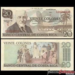 COSTA RICA - Billet de 20 Colones - 7.04.1983 P238c